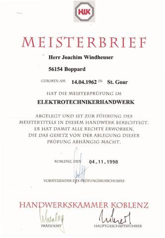 Meisterbrief--Klein-